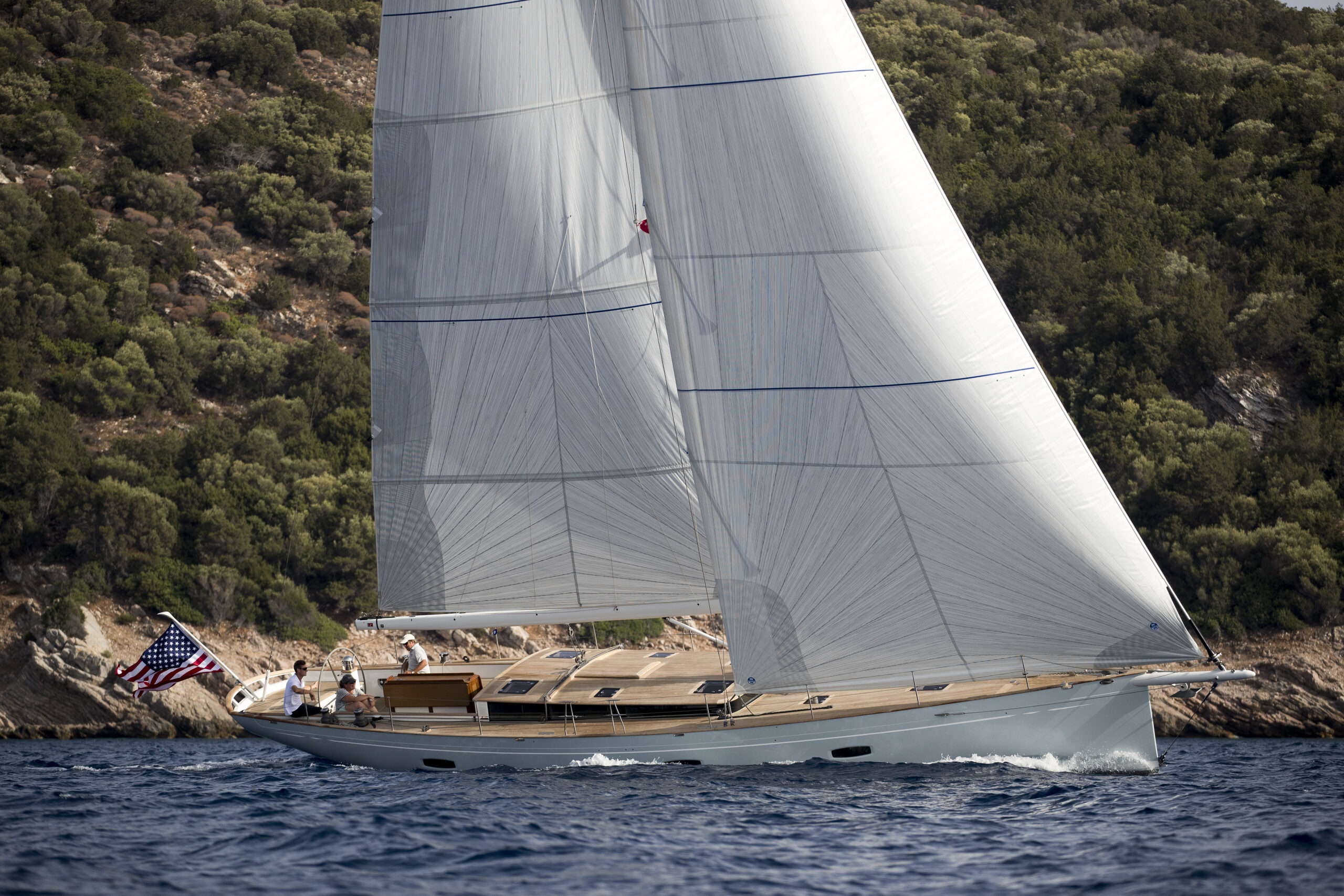 PC55 Sister vessel sailing
